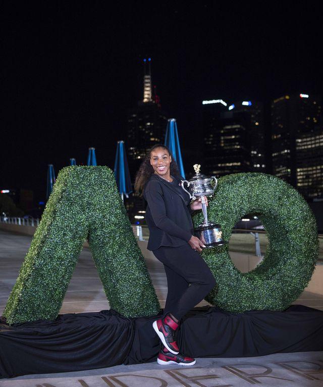 Serena Williams pokazała... ciążowy brzuszek! (ZDJĘCIE)