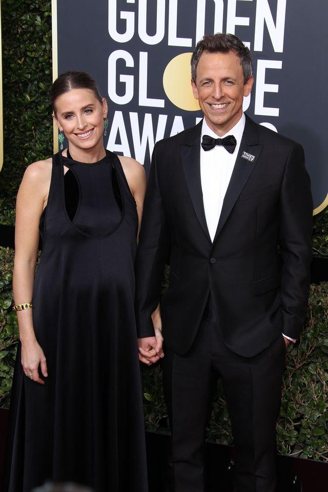 Seth Meyers i jego żona Alexi Ashe nie zdążyli na porodówkę
