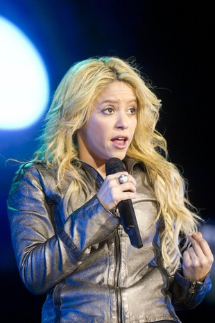 Shakira na Euro 2012 będzie spać w Juracie!