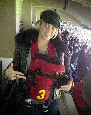 Shakira zabrała synka na mecz (FOTO)