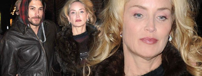 Sharon Stone i jej dużo młodszy kochanek (FOTO)