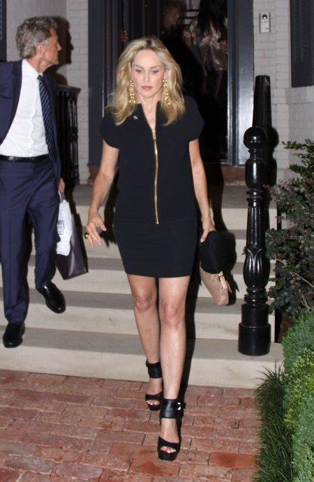 Sharon Stone może przyćmić niejedną młodszą (FOTO)