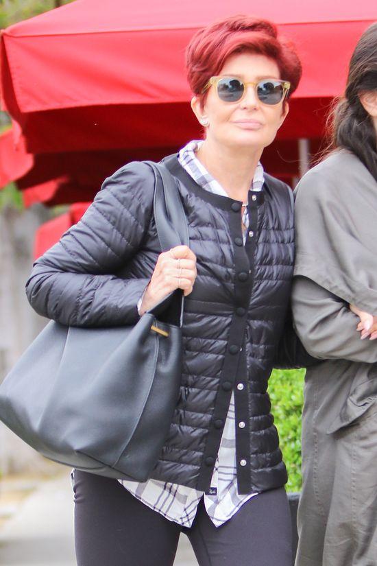 Sharon Osbourne rozbiera si� dla Kim Kardashian!