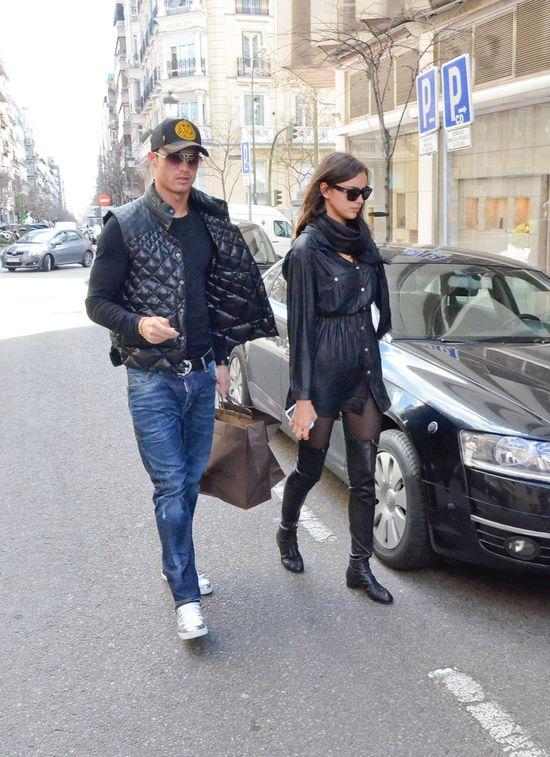Irina Shayk i Cristiano Ronaldo na zakupach (FOTO)