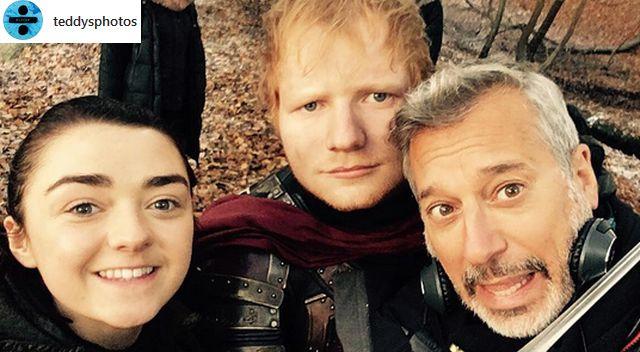 Czy zobaczymy Eda Sheerana w kolejnym sezonie Gry o Tron?