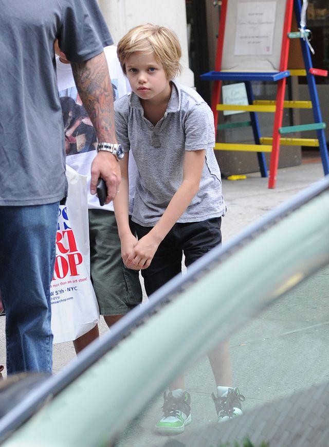 Dziennikarze myl� Shiloh Jolie-Pitt z ch�opcem! (FOTO)