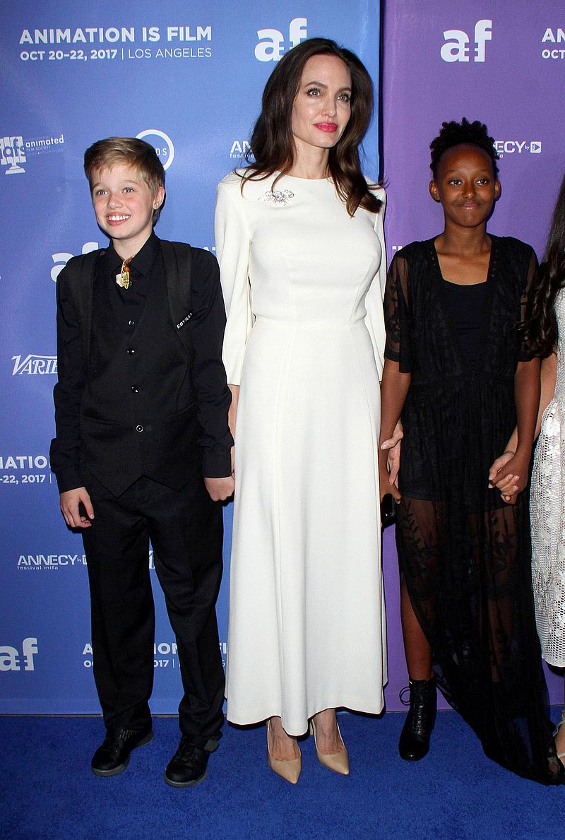 Córka Angeliny i Brada, Shiloh, jest bardzo NIESZCZĘŚLIWA