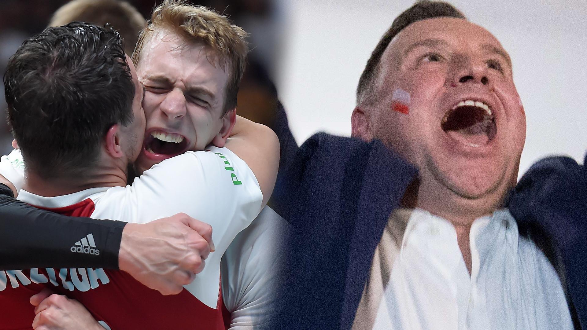 Cieszy się Duda, gratuluje Lewandowski – ZŁOTO dla Polaków w siatkówce