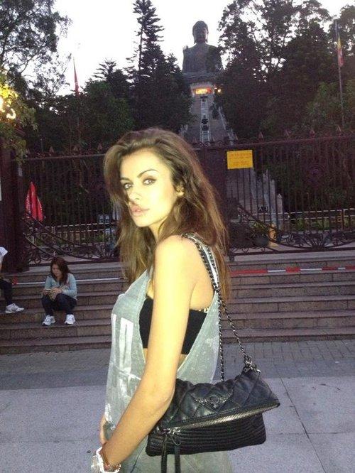 Natalia Siwiec poleciała do Hong Kongu (FOTO)