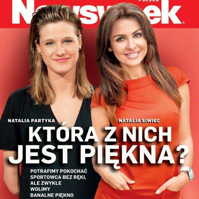 Natalia Partyka vs. Natalia Siwiec na okładce Newsweeka