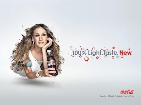 Sarah Jessica Parker i Coca Cola