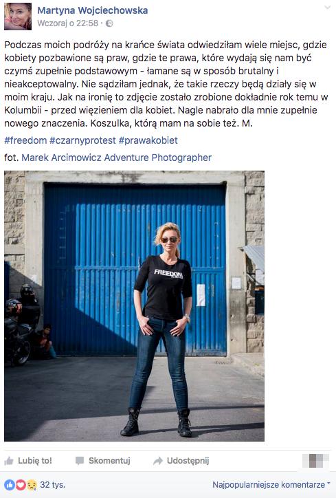 Martyna Wojciechowska zdruzgotana sytuacją w Polsce