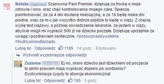 Beatę Szydło zalewa KREW NARODU!