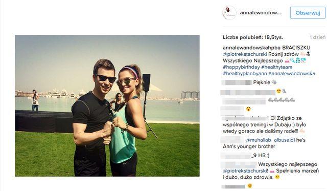 Anna Lewandowska pokazała swojego brata! (FOTO)