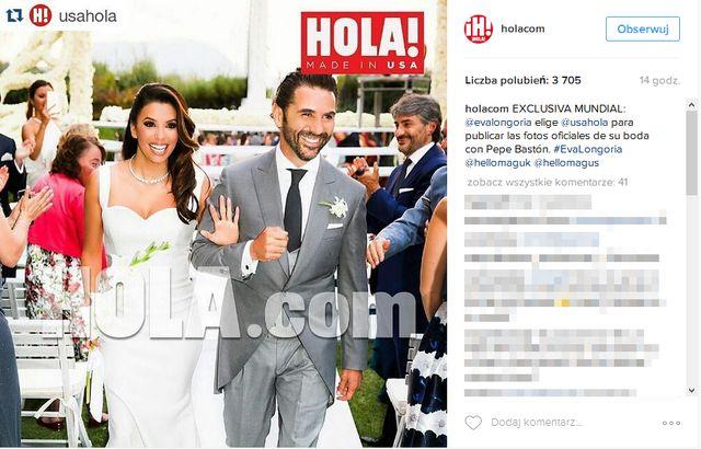 Kreacja Victorii Beckham na ślubie Evy Longorii to... faux pas?