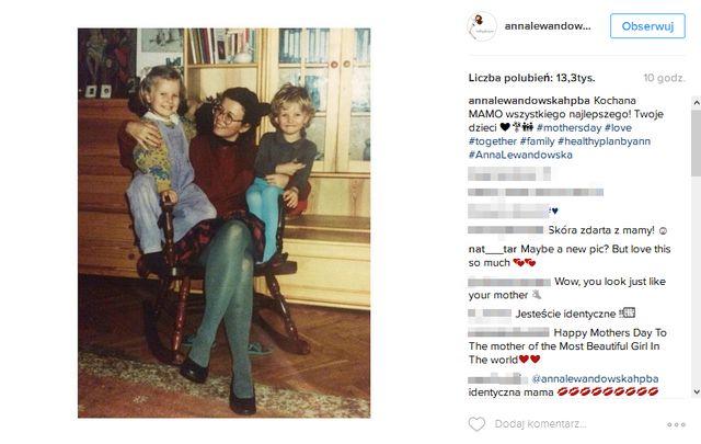 Nie zgadniesz, jak bardzo Anna Lewandowska jest podobna do swojej mamy! (FOTO)