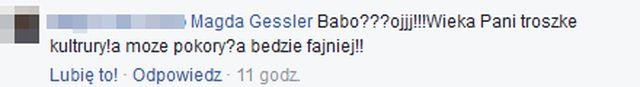 Magda Gessler zmieszała fankę z błotem? Takiej riposty nie mogła się spodziewać!