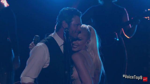 Wspólny występ Gwen Stefani i Blake'a Sheltona wzrusza do łez (VIDEO)