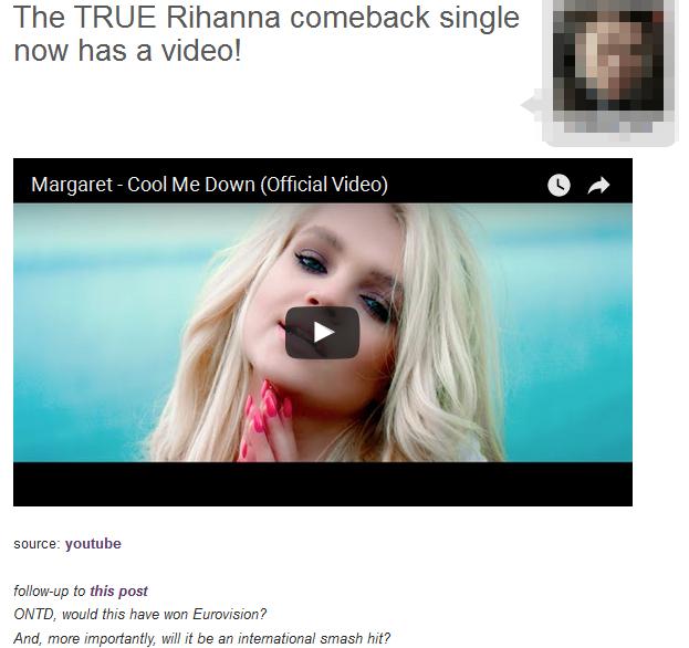 Amerykańskie media o Margaret: W końcu wróciła PRAWDZIWA Rihanna! (VIDEO)