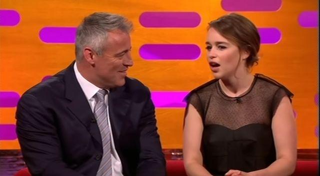 Nie uwierzysz, jak Emilia Clarke zareagowała na najlepszy tekst Matta LeBlanc!