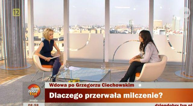 Wdowa po Ciechowskim: Pani Małgorzata wymyśla historie