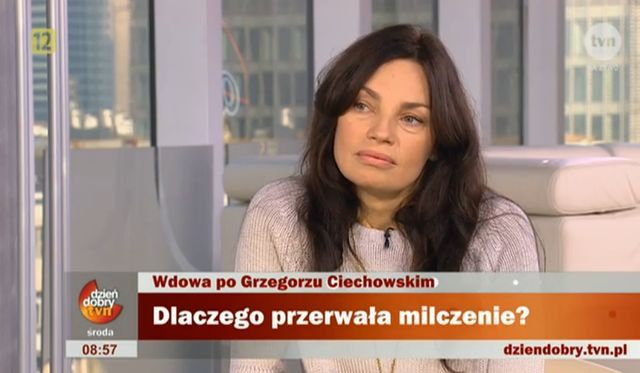Wdowa po Ciechowskim: Pani Ma�gorzata wymy�la historie