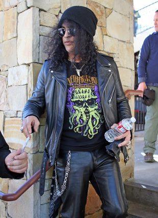 Slash zostawił żonę i zamieszkał z kochanką