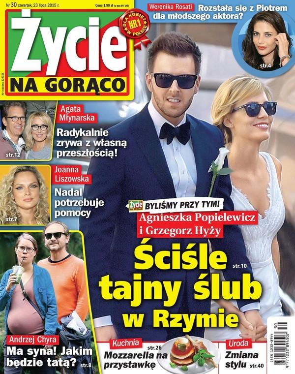 Popielewicz i Hyży pozwą magazyn za zdjęcie ze ślubu?