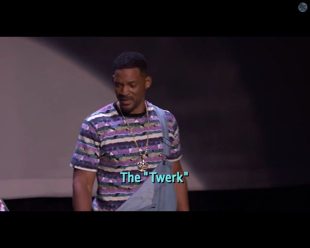 Will Smith i Jimmy Fallon demonstruj� ewolucj� hip-hopu
