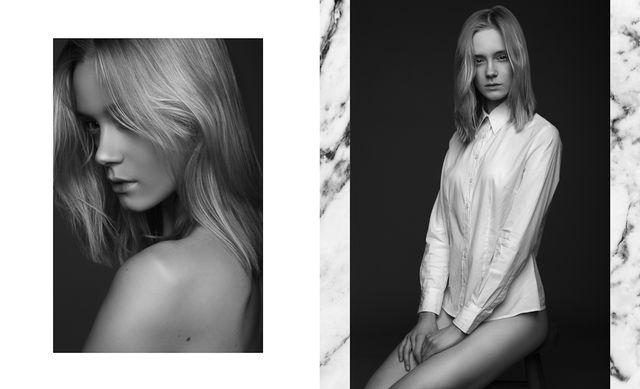 Kasia Smolińska z 1. edycji Top Model w zmysłowej sesji