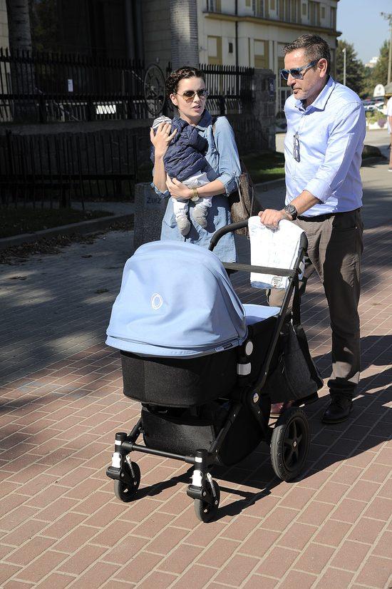 Andrzej Sołtysik z piękną żoną i synkiem nad morzem (FOTO)