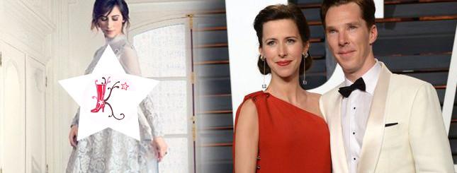 Jest zdjęcie sukni ślubnej żony Benedicta Cumberbatcha FOTO