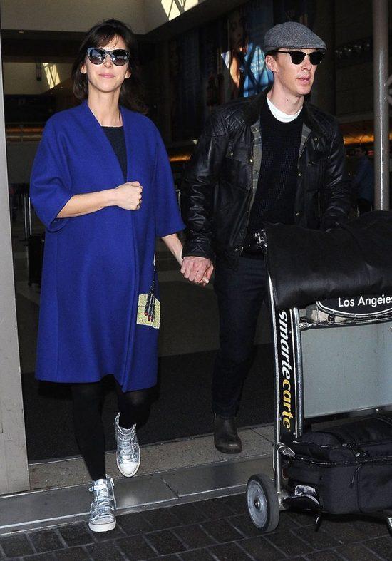 Jest zdjęcie sukni ślubnej żony Benedicta Cumberbatcha (FOTO
