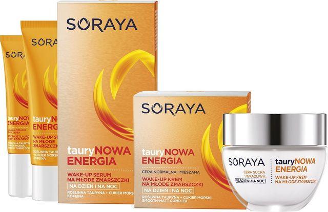 Testujemy serię kosmetyków Soraya tauryNOWA ENERGIA