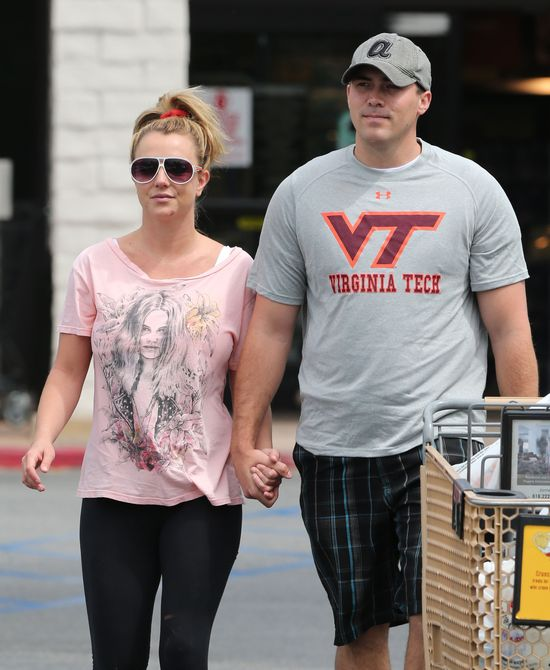 Britney Spears i David Lucado na zakupach