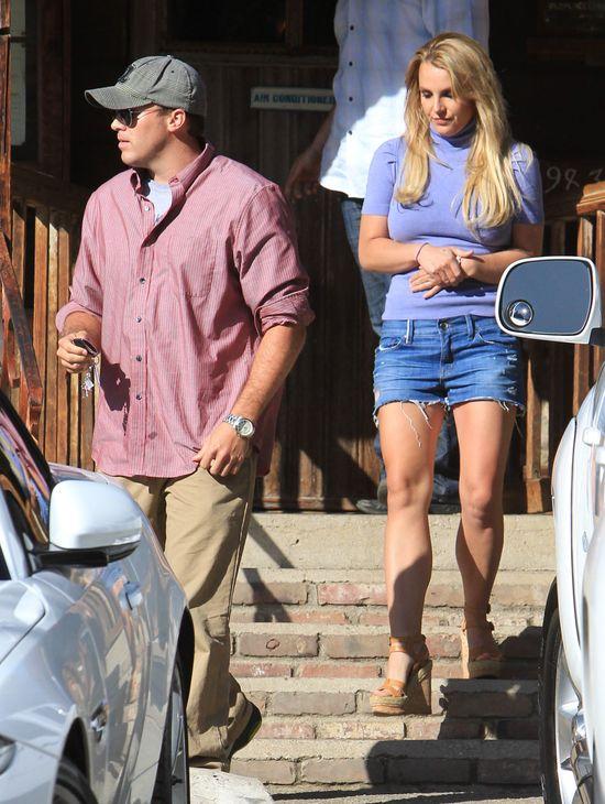 Britney Spears i David Lucado na randce