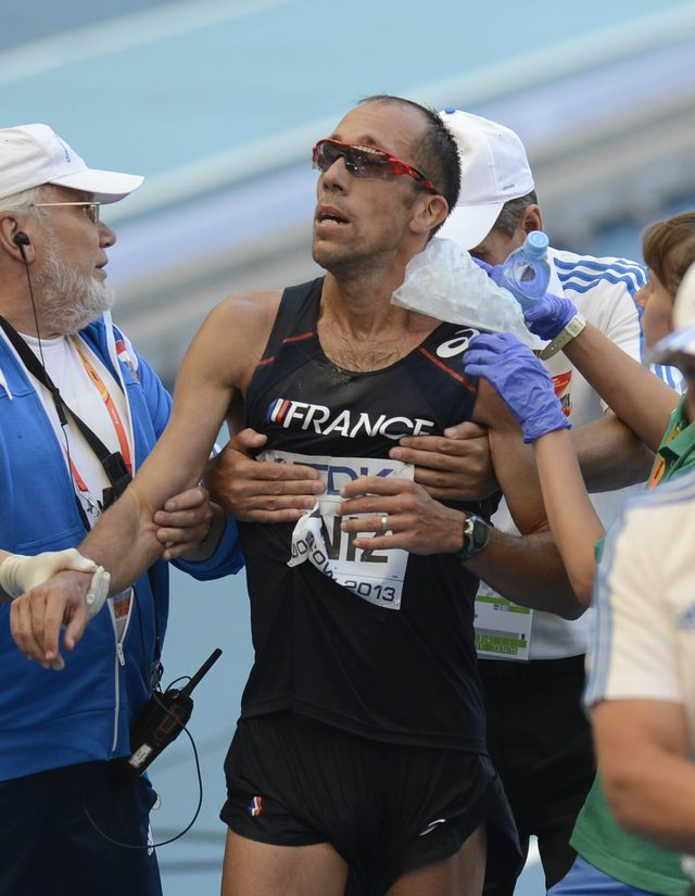 Rio 2016 - francuski chodziarz popuścił w spodenki