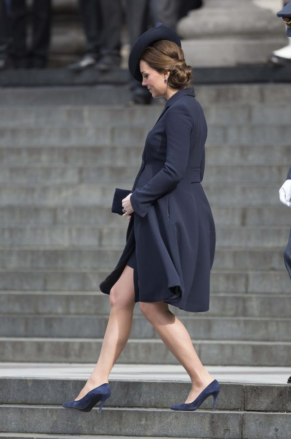 Księżna Kate coraz bliżej terminu porodu