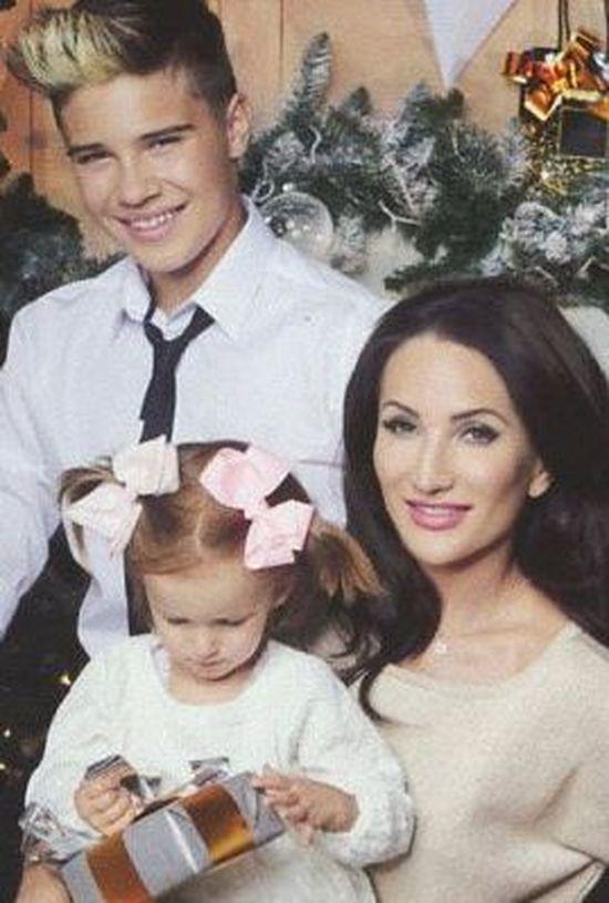 Justyna Steczkowska pokaza�a ca�� rodzink� (FOTO)