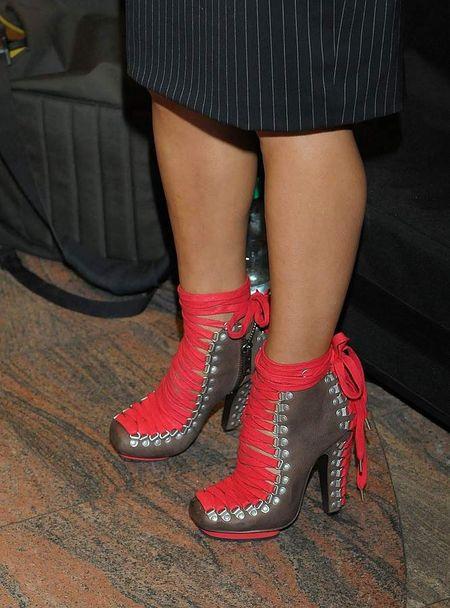 Justyna Steczkowska zaszala�a z butami