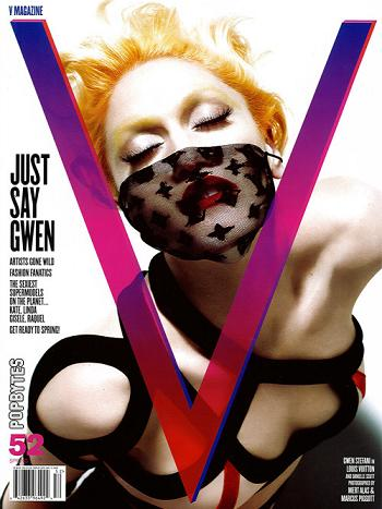 Gwen Stefani dla V Magazine