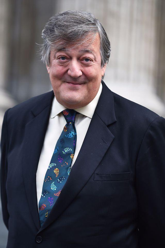Stephen Fry, brytyjski aktor znany z czarnej Żmii: MAM RAKA