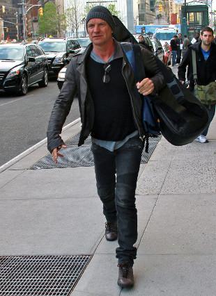 Sting ocierał łzy na komedii, w której gra jego córka