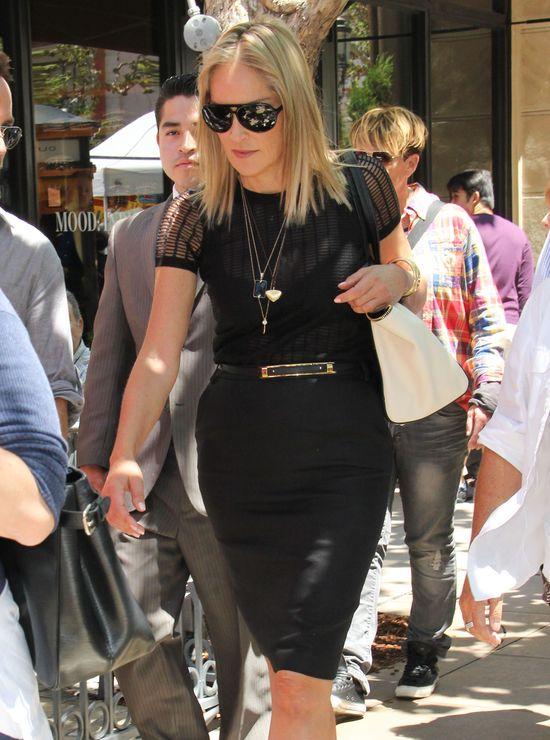 Sharon Stone stylowa i seksowna (FOTO)