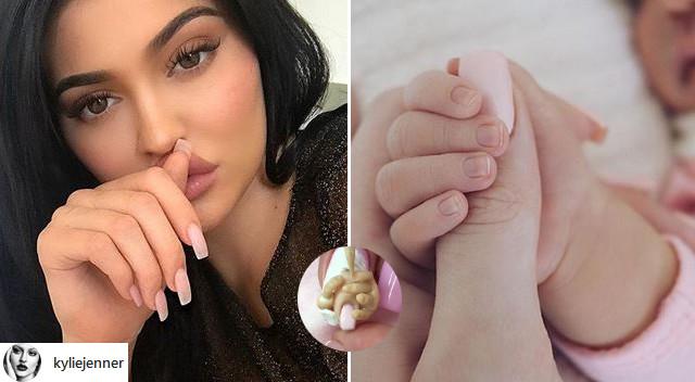 PRZERAŻAJĄCE! Powstał manicure inspirowany Stormi (Instagram)