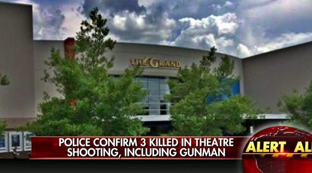 strzelanina w kinie