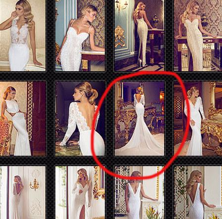 Czy tak wyglądała suknia ślubna Jennifer Aniston? (FB)
