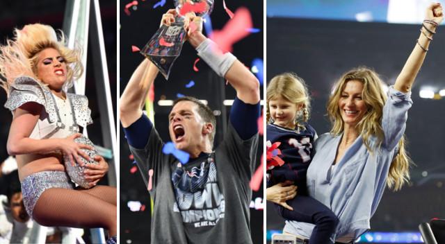 Gisele Bundchen szalała ze szczęścia, Lady Gaga dała czadu – finał Super Bowl