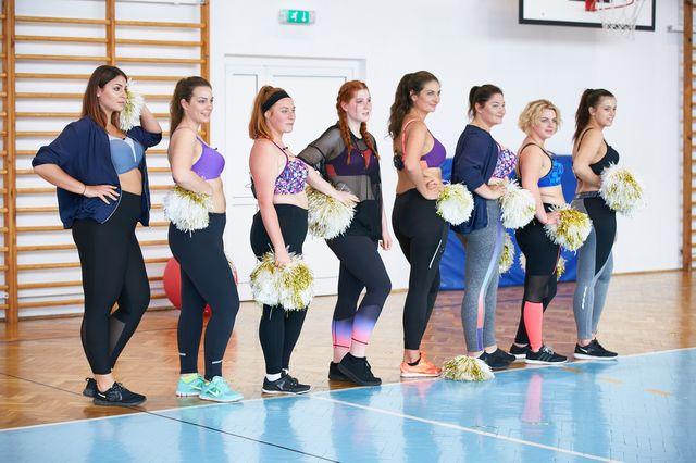 #Supermodelka Plus Size: Dziewczyny na warsztatach cheerleadingu (ZDJĘCIA+VIDEO)
