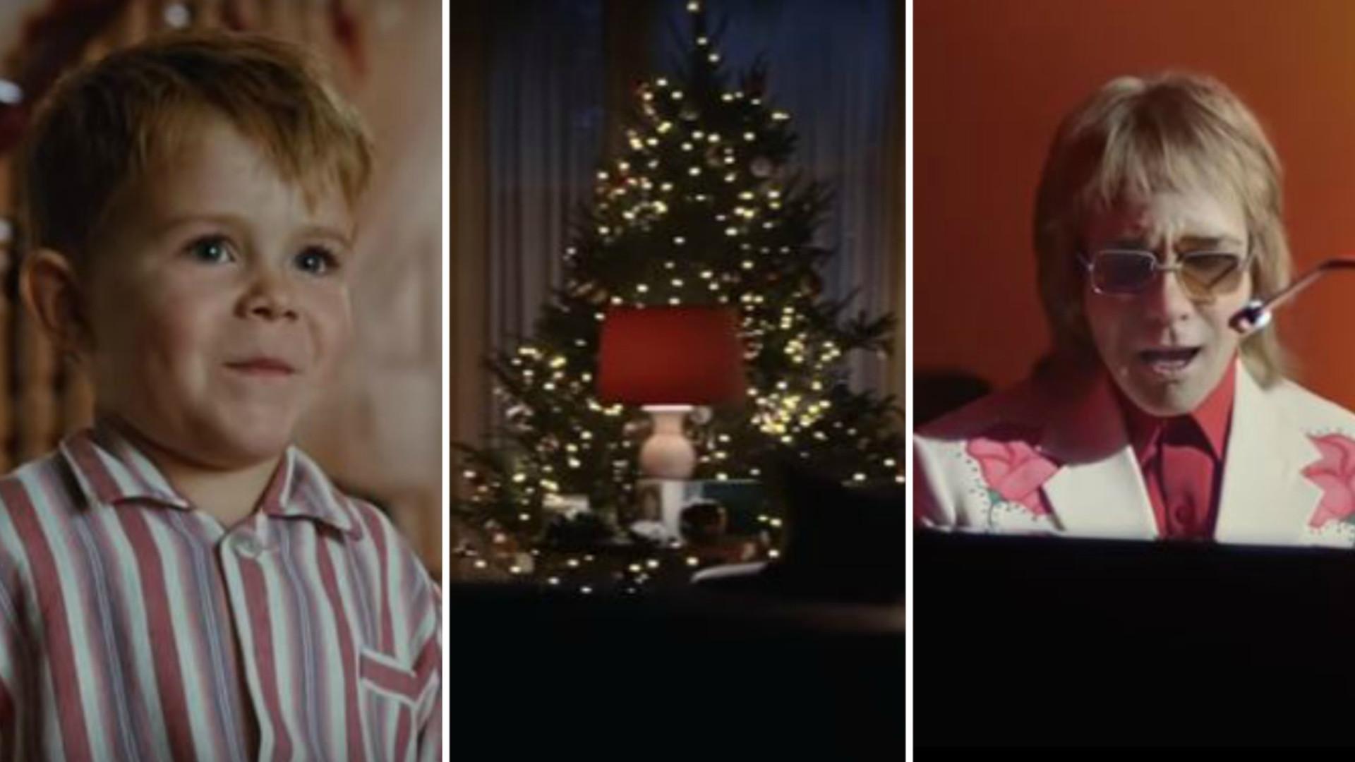 Ta wzruszająca kampania świąteczna z udziałem Eltona Johna jest już HITEM sieci
